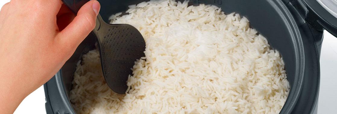 como hacer arroz en olla arrocera