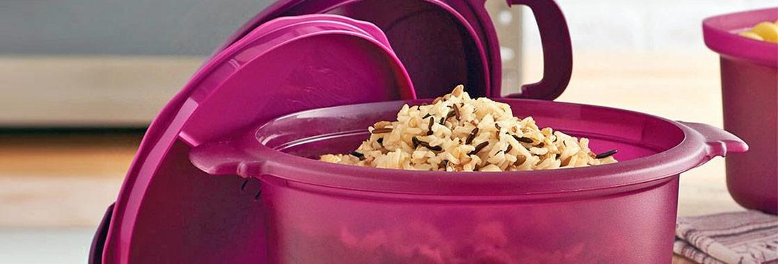 como hacer arroz en microondas